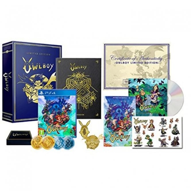 Owlboy Limited Edition PS4