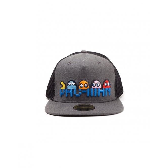 Pac-Man Pixel Logo and Characters Snapback
