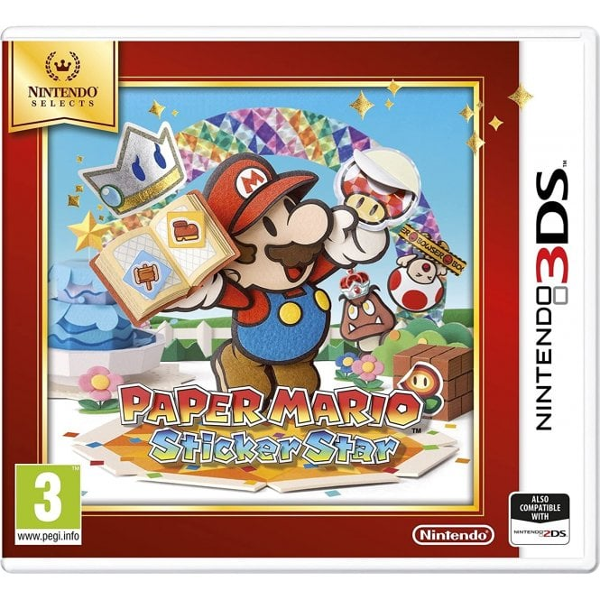 Paper Mario Sticker Star Nintendo Selects 3DS