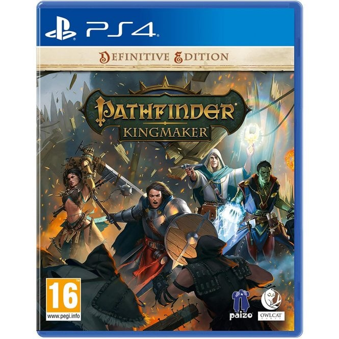 Pathfinder Kingmaker Definitive Edition PS4