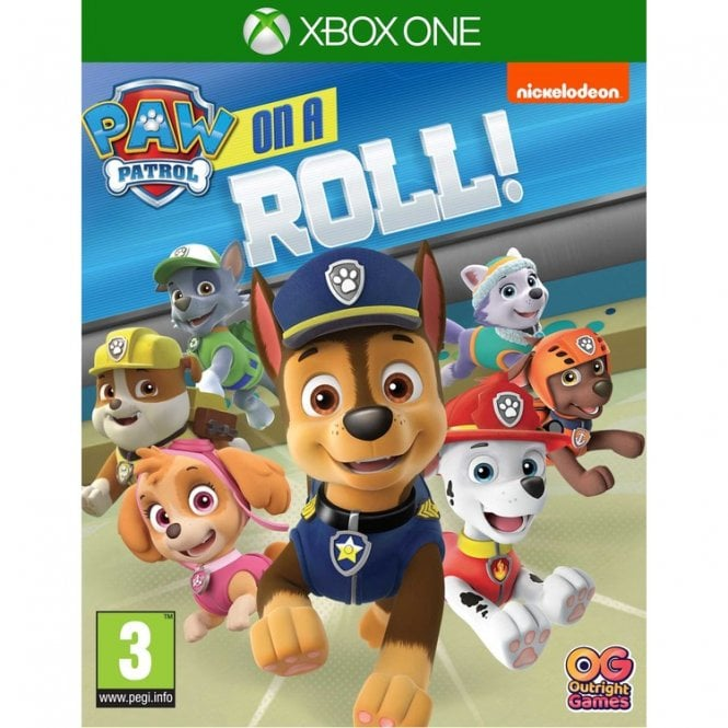 PAW Patrol On a Roll Xbox
