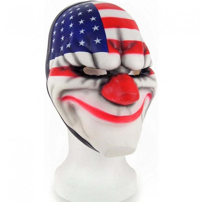 Payday 2 Dallas Face Mask