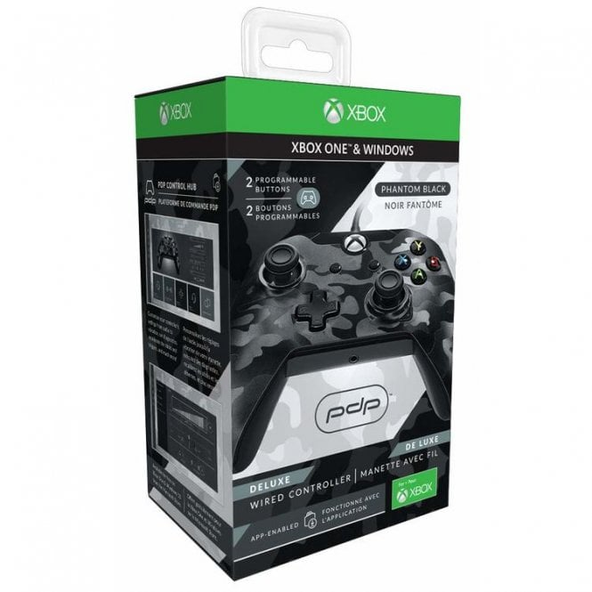 PDP Black Deluxe Wired Controller Xbox One