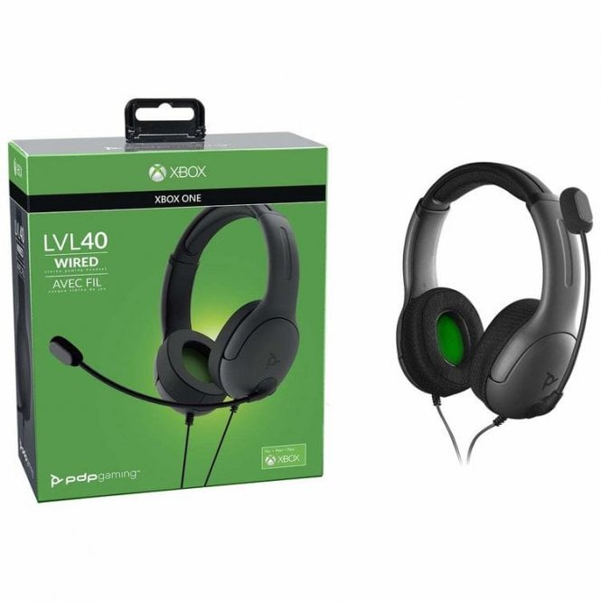 PDP Level 40 Wired Headset Xbox