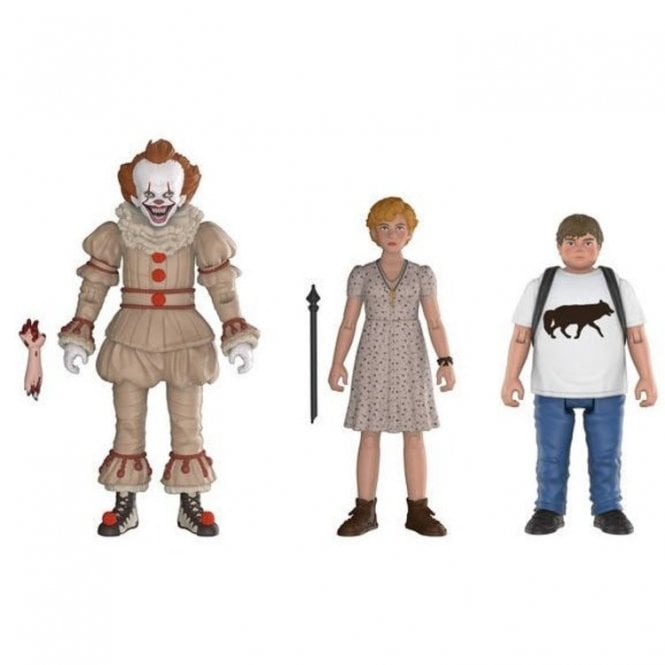 Pennywise, Ben, Beverly Action Figure Triple Pack
