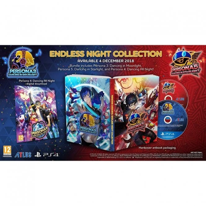 Persona 3 and 5 Endless Night Collection PS4