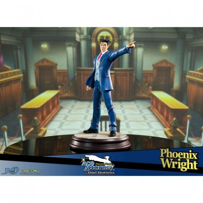 Phoenix Wright Ace Attorney Dual Destinies 1/6 Phoenix Wright Statue