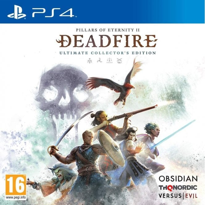 Pillars of Eternity II Deadfire Ultimate Collector's Edition PS4