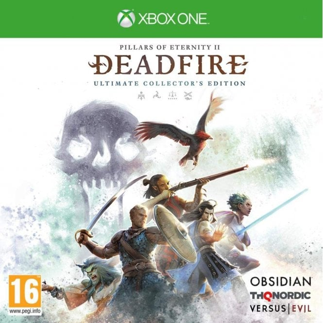 Pillars of Eternity II Deadfire Ultimate Collector's Edition Xbox