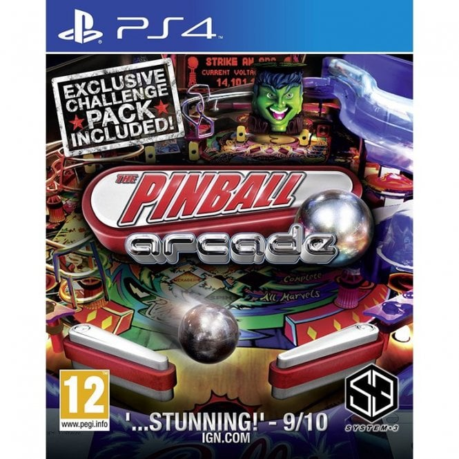 Pinball Arcade PS4