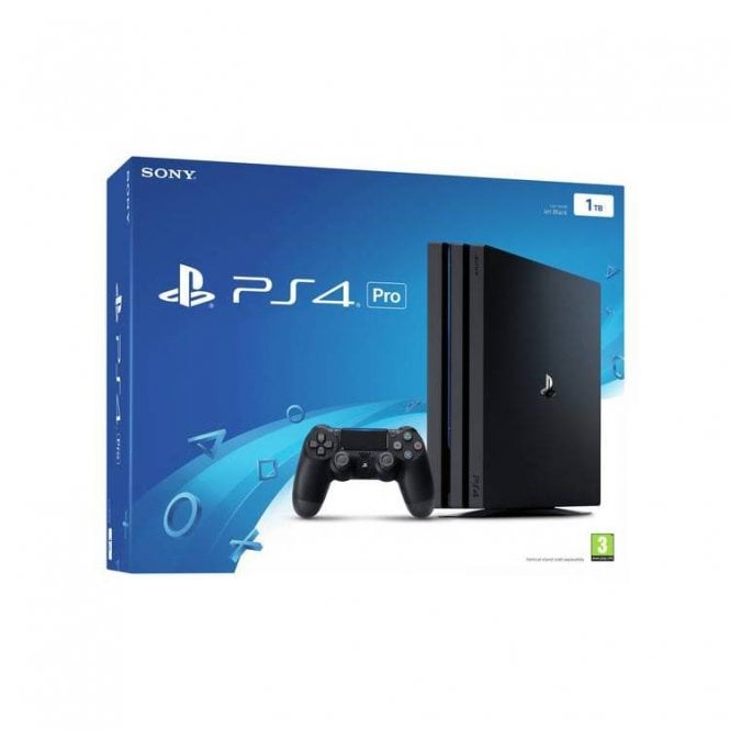 Playstation 4 1TB Black Pro Console