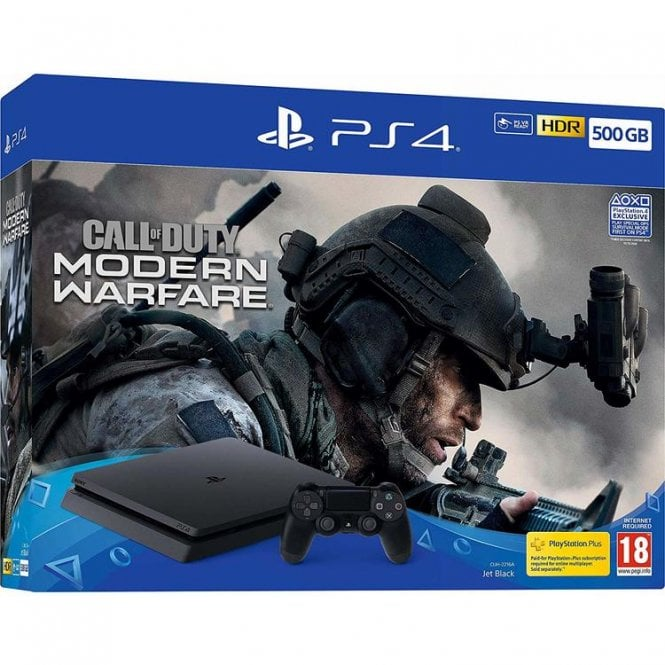 Playstation 4 500GB Call of Duty Modern Warfare Bundle
