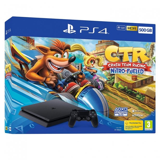 Playstation 4 500GB Crash Team Racing Bundle