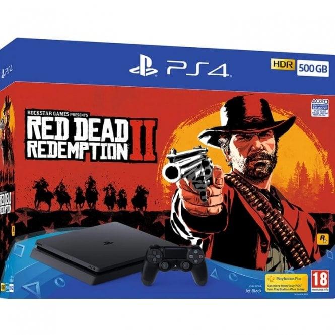 Playstation 4 500GB Red Dead Redemption 2 Bundle
