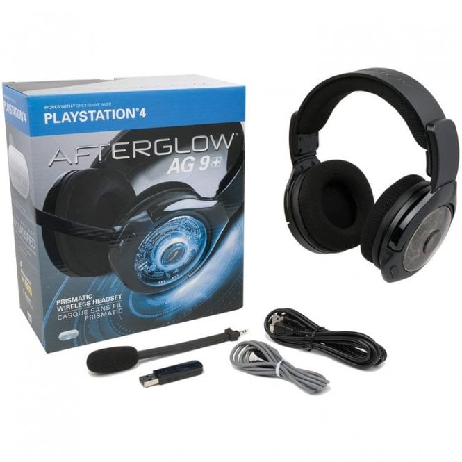 Playstation 4 Afterglow AG 9 Wireless Headset