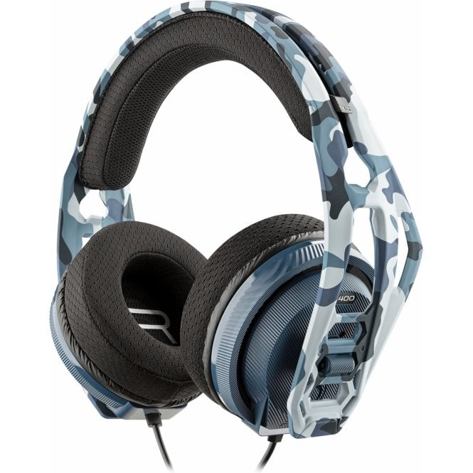 Playstation 4 Blue Camo Rig 400 Headset