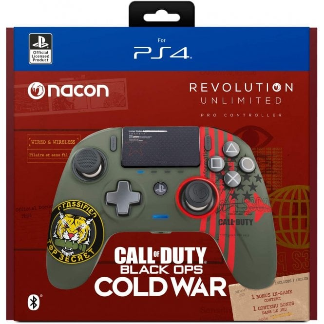 Playstation 4 Call of Duty Cold War Pro Wireless Controller