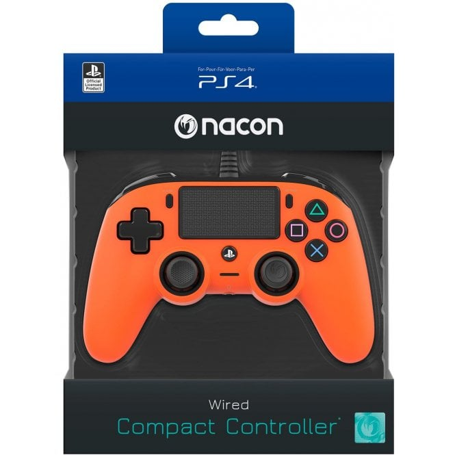 Playstation 4 Orange Compact Controller