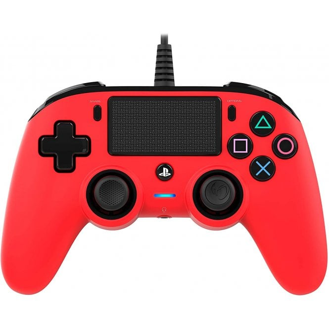 Playstation 4 Red Compact Controller