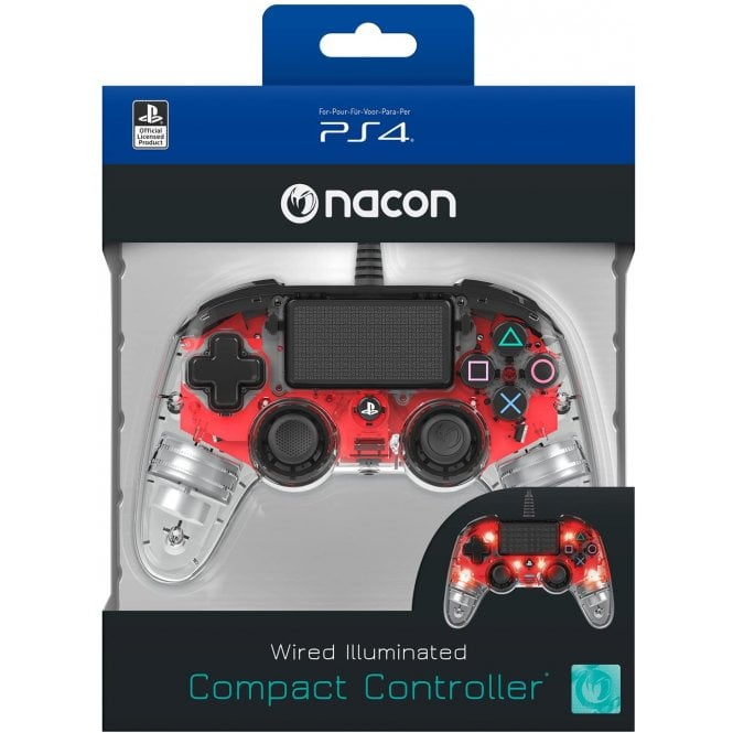 Playstation 4 Red Light Edition Compact Controller