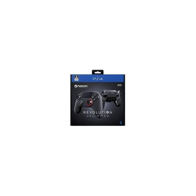 Playstation 4 Revolution Unlimited Pro Black Wireless Controller