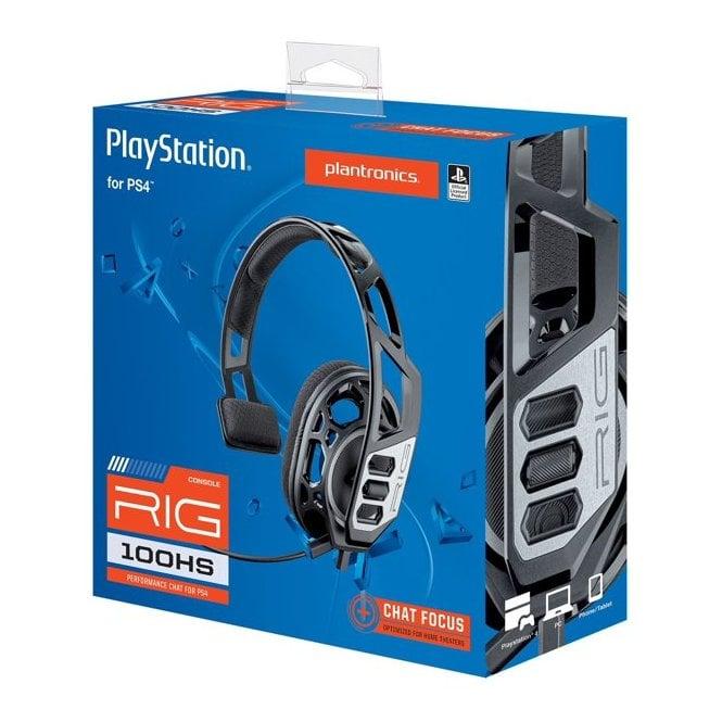 Playstation 4 RIG 100 Titan Grey Headset