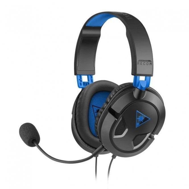 PlayStation 4 Turtle Beach Black Ear Force Recon 50P Headset