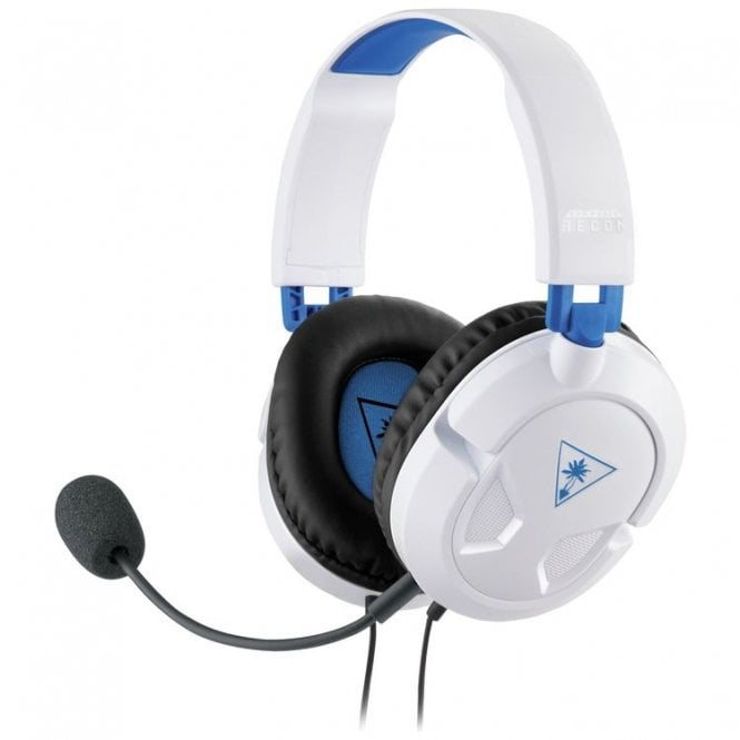PlayStation 4 Turtle Beach White Ear Force Recon 50P Headset