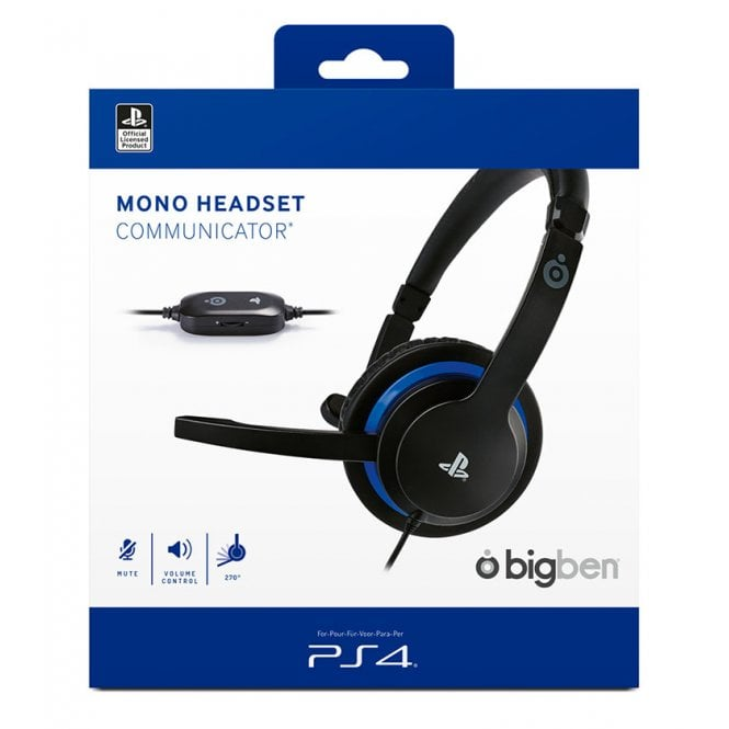 Playstation 4 Wired Mono Headset