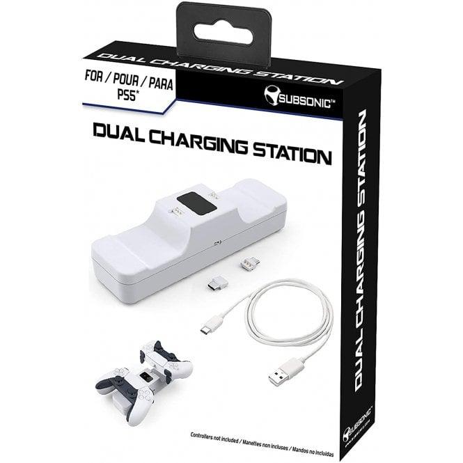 PlayStation 5 Dual Sense Charging Station White