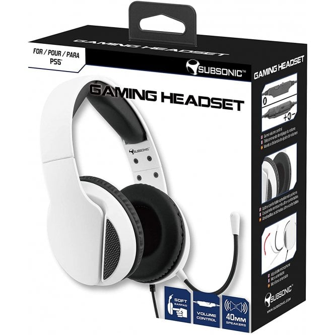 Playstation 5 Gaming HS300 White Headset