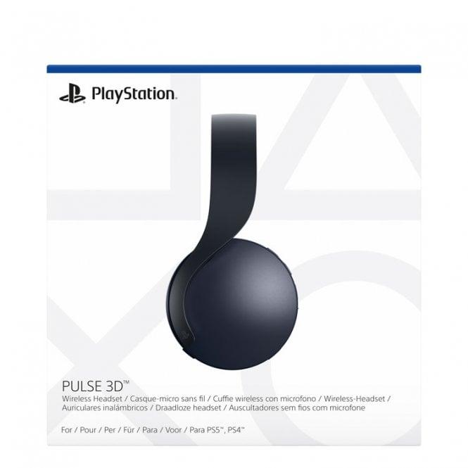 PlayStation 5 PULSE 3D™ Midnight Black wireless headset