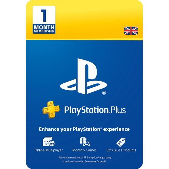 PlayStation Plus 1 Month Subscription
