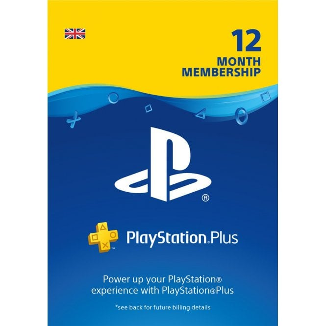 PlayStation Plus 12 Month – 25% Off