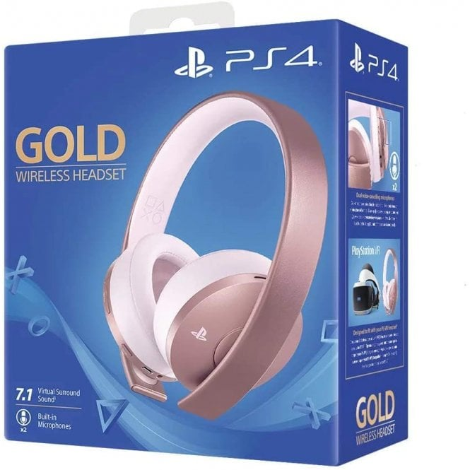 Playstation Wireless Rose Gold Headset