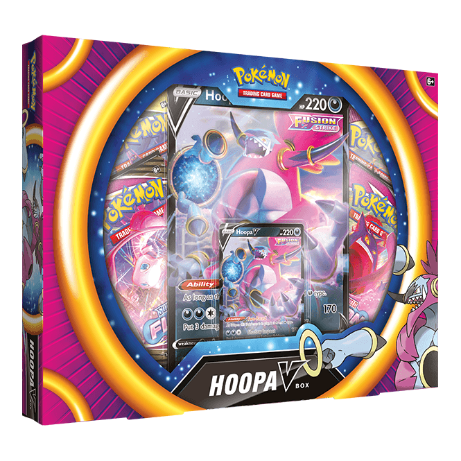 Pokémon TCG Hoopa V Box