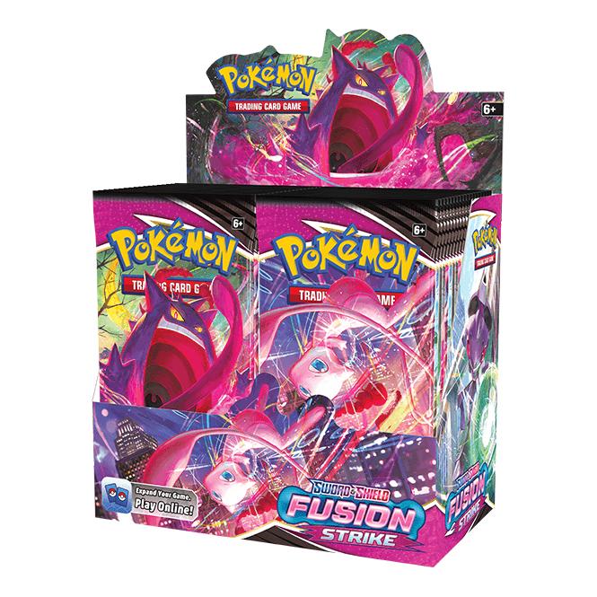Pokémon TCG Sword & Shield 8 Fusion Strike Booster Box - 36 Packs