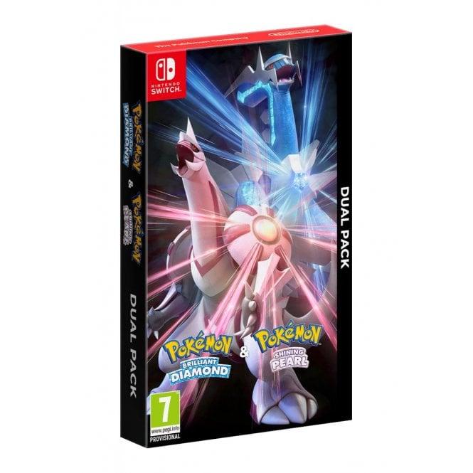 Pokemon Brilliant Diamond + Shining Pearl Double Pack Switch