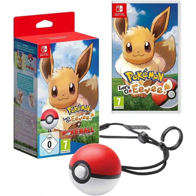 Pokemon Let's Go! Eevee! + Pokeball Plus Switch