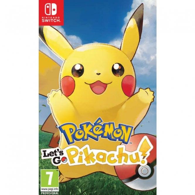Pokemon Let's Go! Pikachu! Switch