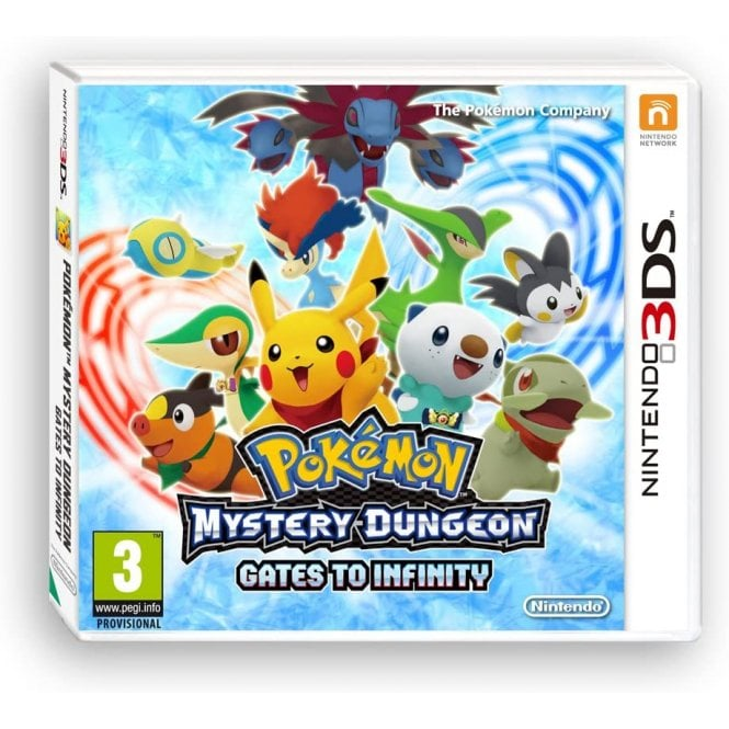 Pokemon Mystery Gates to Infinity 3DS