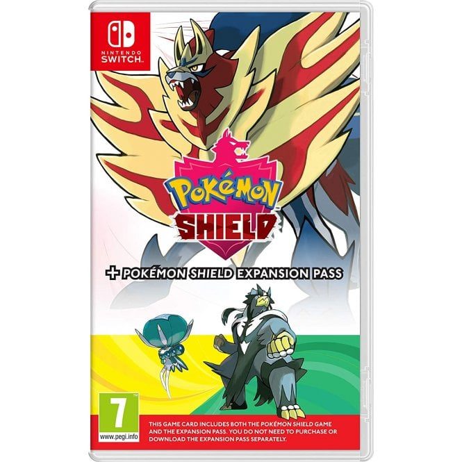 Pokemon Shield & Expansion Pass Switch