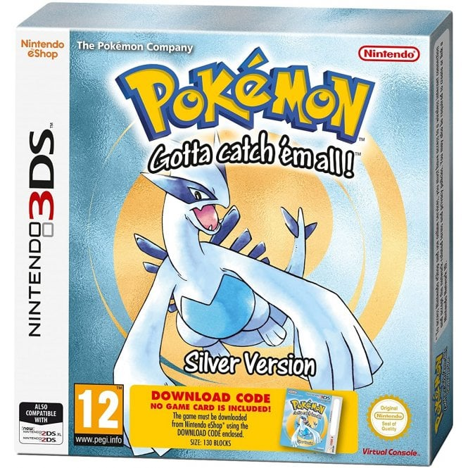Pokemon Silver Download Code 3DS