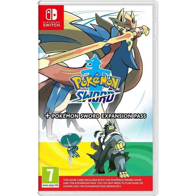Pokemon Sword & Expansion Pass Switch