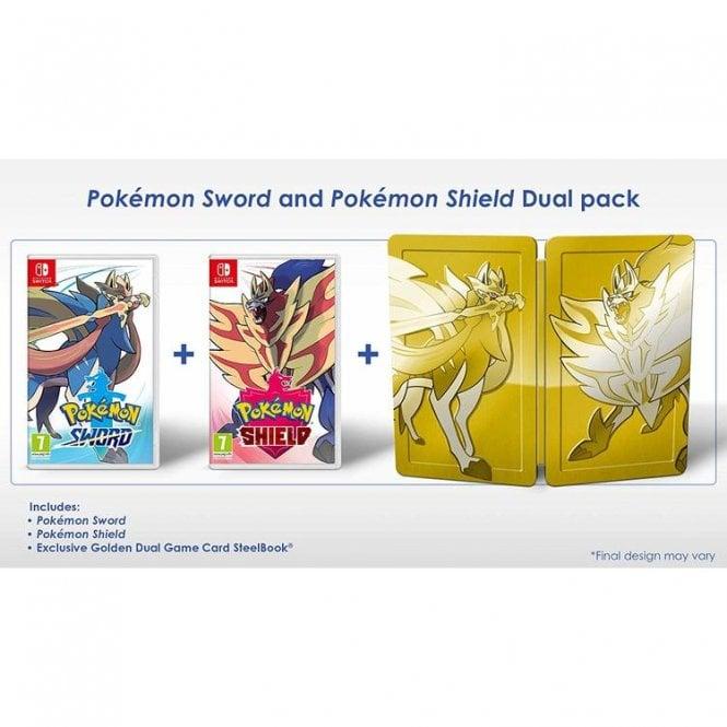 Pokemon Sword & Shield Dual Edition Switch