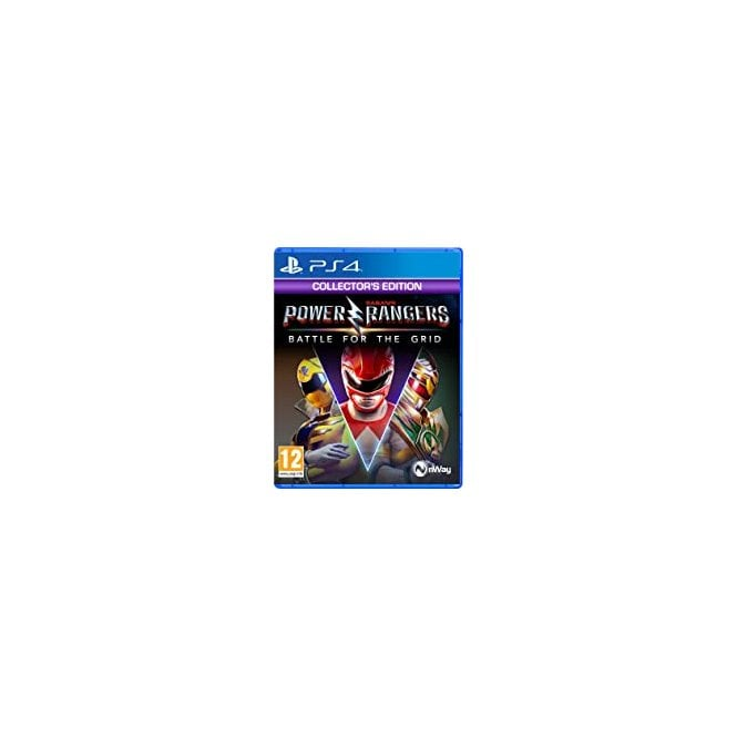 Power Rangers Battle Grid Collector Edition PS4