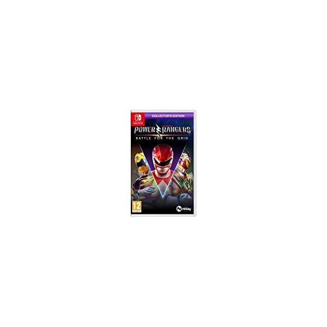 Power Rangers Battle Grid Collector's Edition Switch