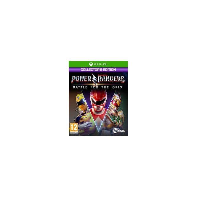 Power Rangers Battle Grid Collector's Edition Xbox