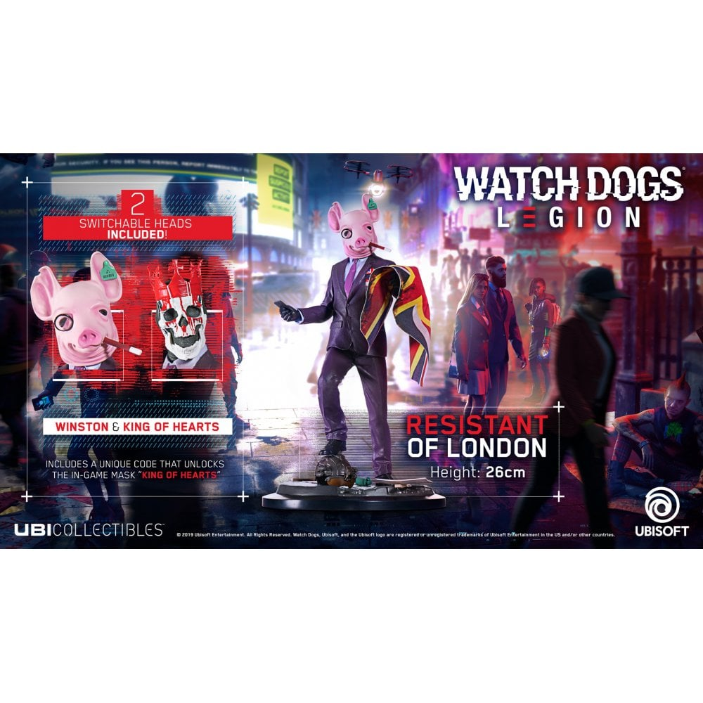 Watch Dogs Legion Figurine Resistant Of London Collectibles From Gamersheek