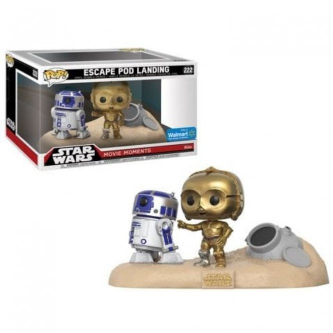 R2-D2 & C-3PO Desert POP! Movie Moments
